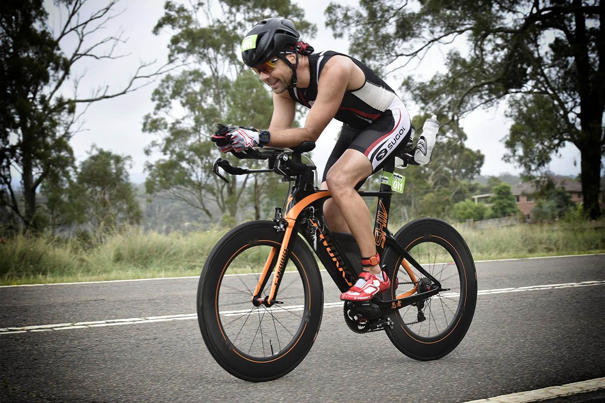 Ironman 70.3 Western Sydney Bike leg